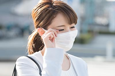 アレルギー性結膜炎について